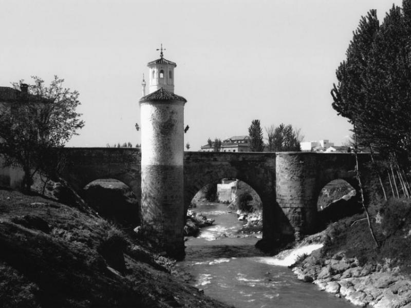 Foto del puente de Pinos, realizada por foto Recio (Pinos Puente)
